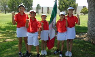 golfistas juveniles
